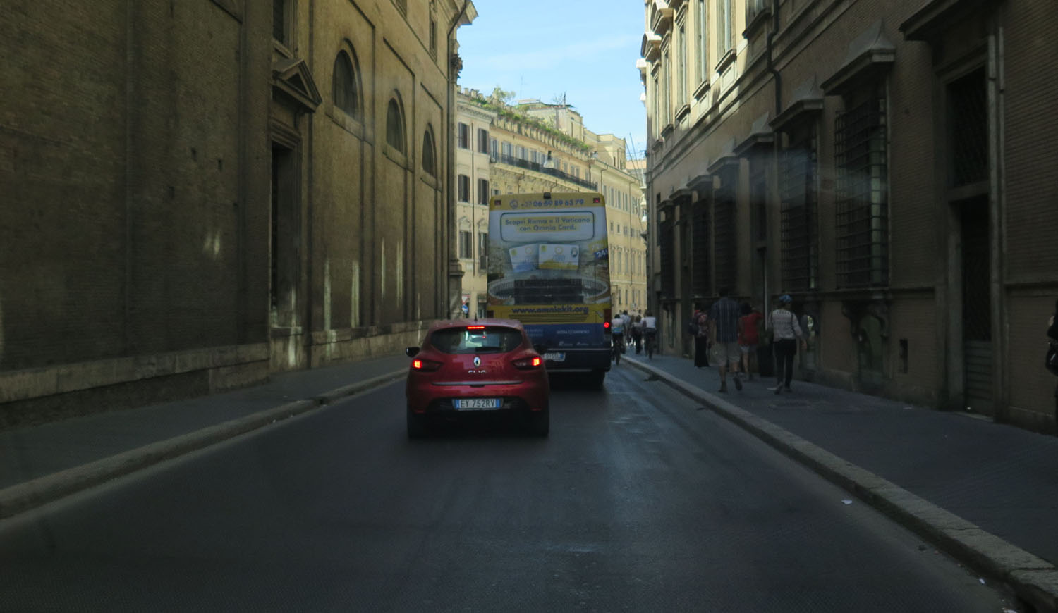 Italy-Rome-Taxi-Ride
