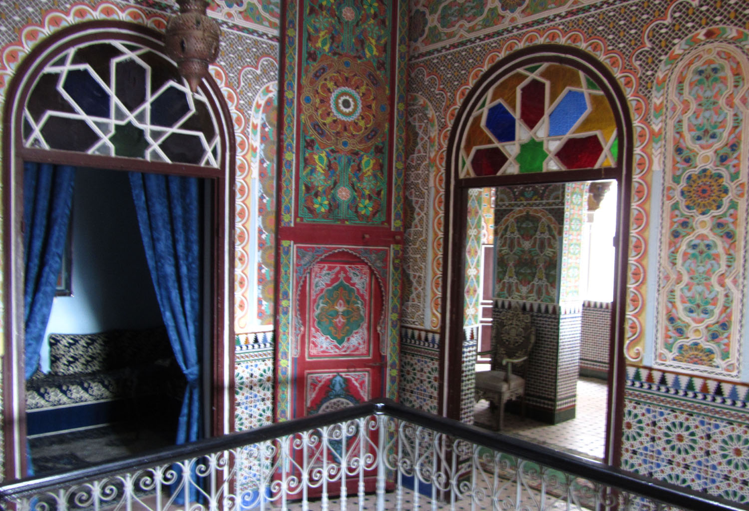 Morocco-Tangier-Hotel-Continental-Tiles