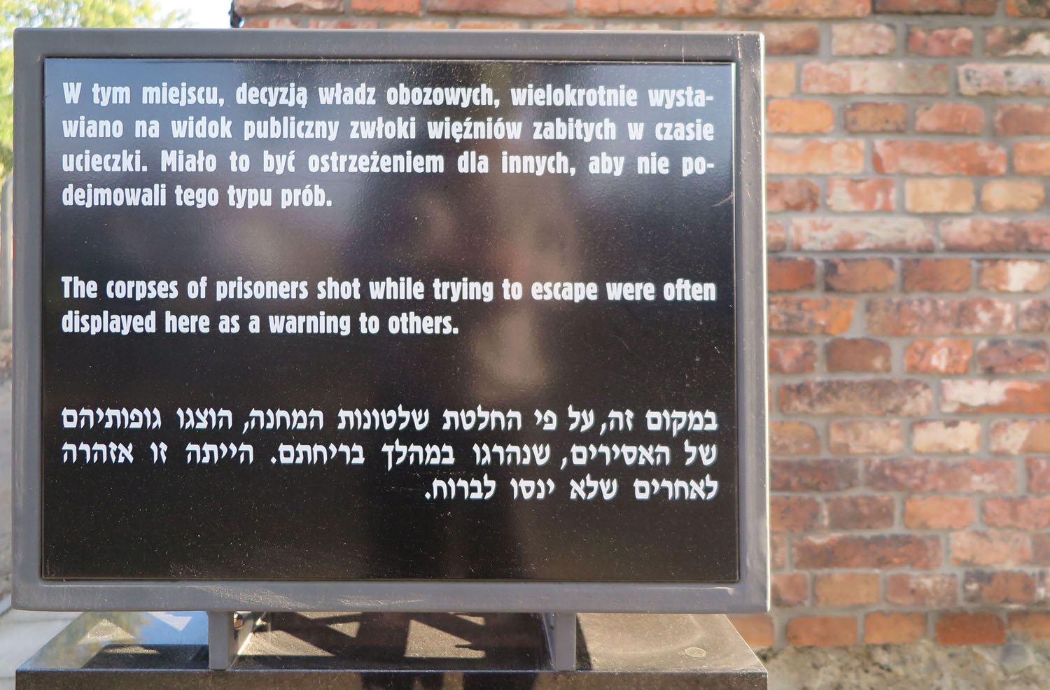 Poland-Auschwitz-Escape-Punishment