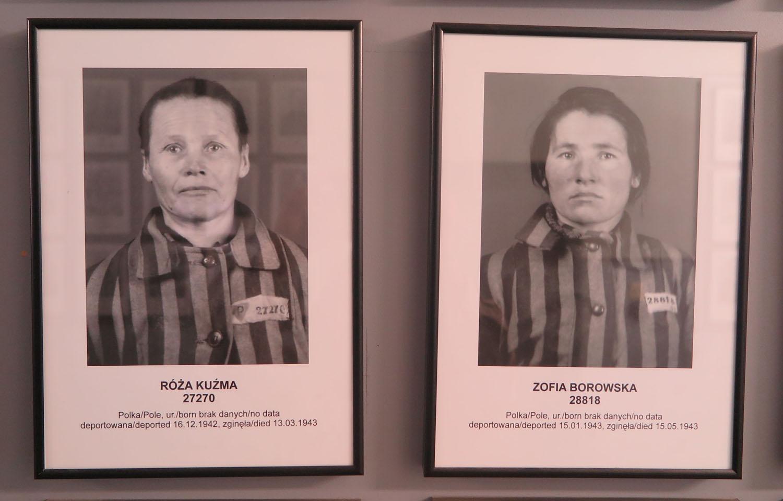 Poland-Auschwitz-People-Roza-Kuzma-Zofia-Borowska