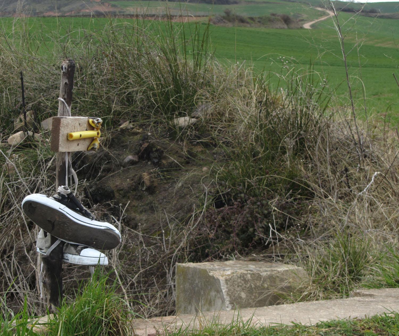 Camino-De-Santiago-Waymarkers-Improvised