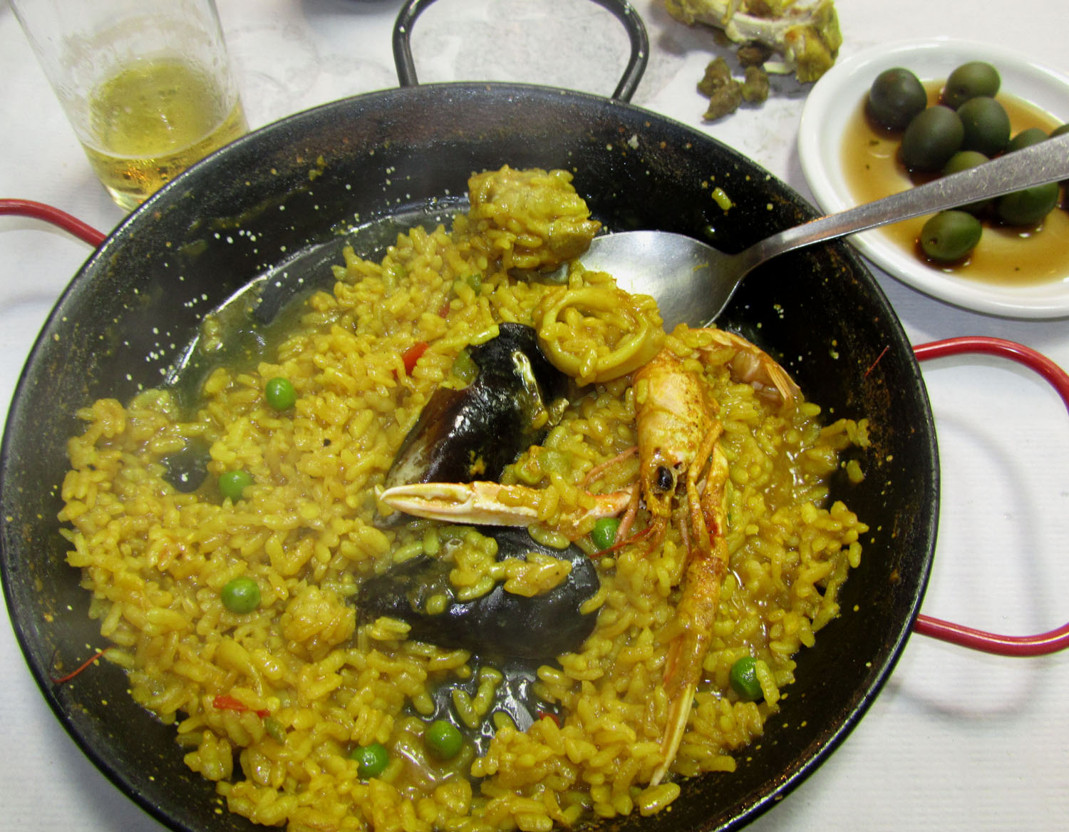 Spain-Nerja-Paella