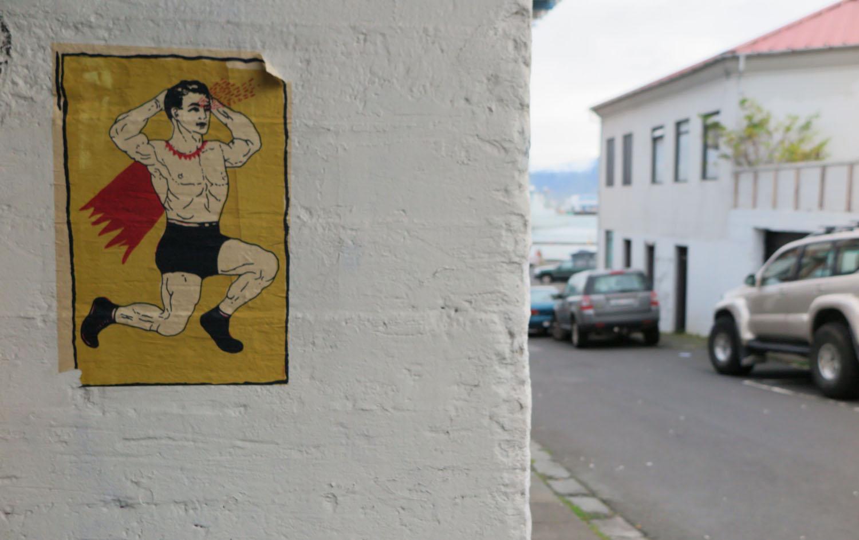 Iceland-Reykjavik-Superman