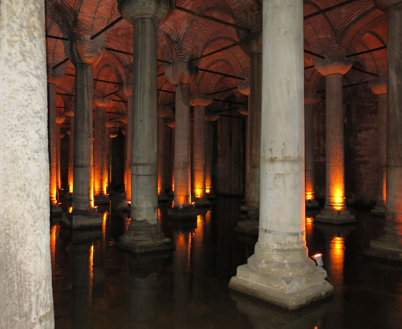 Turkey-Istanbul-Cistern