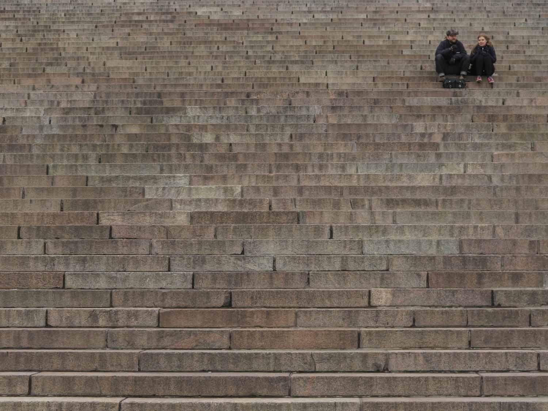 Finland-Helsinki-Cathedral-Steps