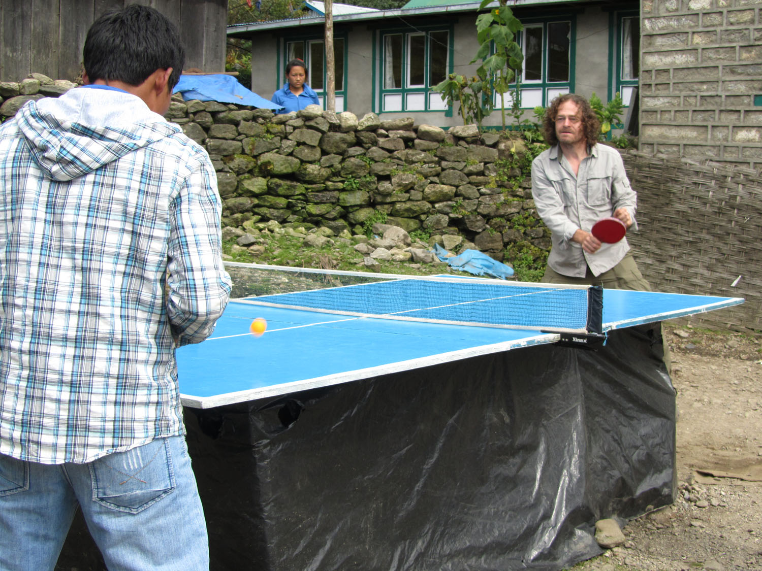 Nepal-Everest-Region-Trek-Day-09-Lukla-Ping-Pong