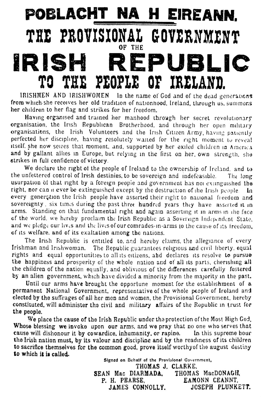 Ireland-Dublin-Kilmainham-Jail-Easter-Proclamation-1916