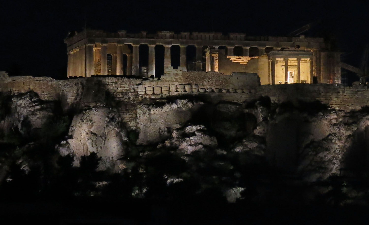 Greece-Athens-Parthenon-Night