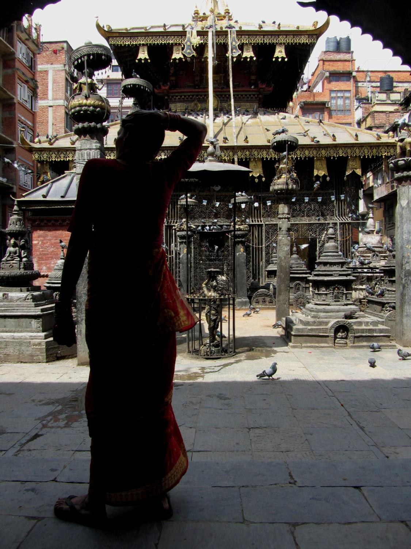Nepal-Kathmandu-Bird-Temple