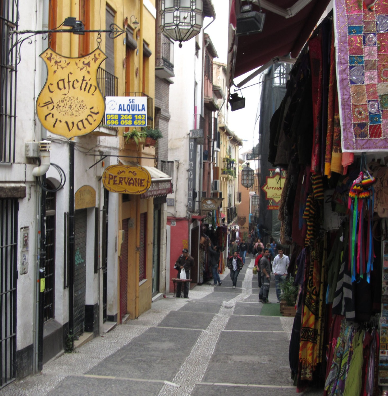 Spain-Granada-Street