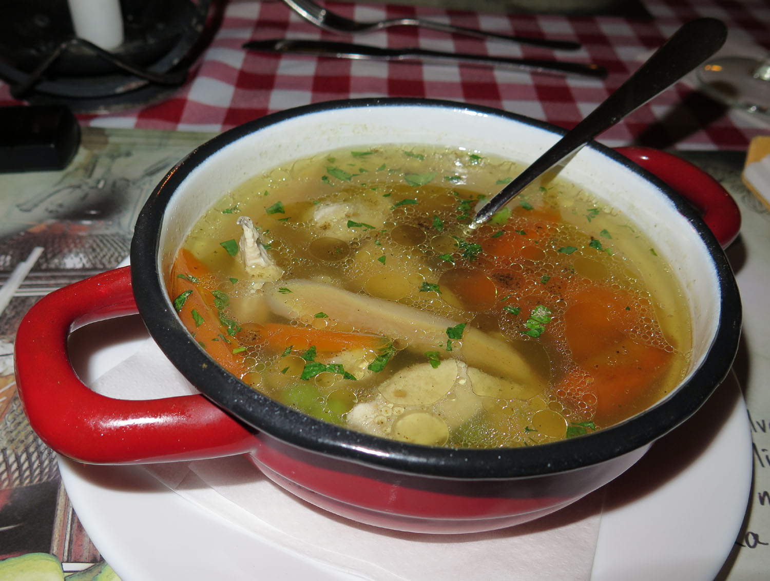 Hungary-Budapest-Food-And-Drink-Chicken-Soup