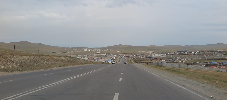 Mongolia-On-The-Road-Outskirts-Of-Ulanbator