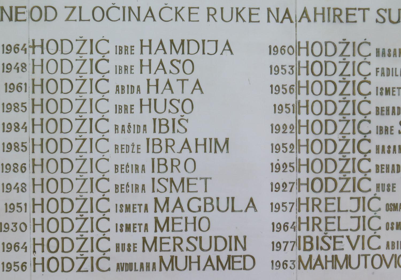 Bosnia-Srebernica-Cemetery