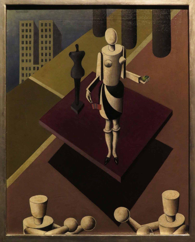 Hungary-Budapest-National-Gallery-Bortnyik-The-New-Eve