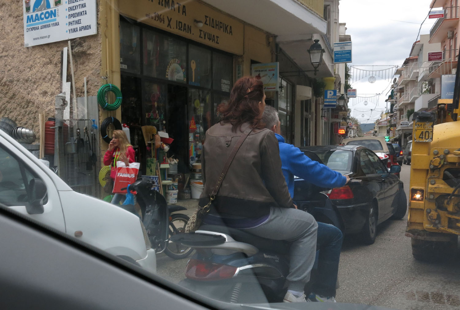 Greece-On-The-Road-City-Streets