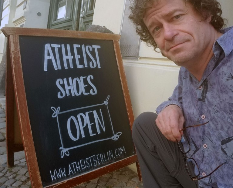 Germany-Berlin-Atheist-Shoes