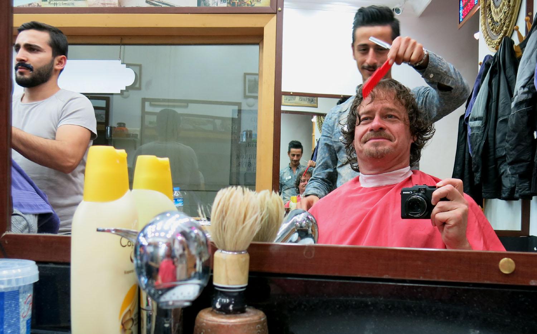 Turkey-Istanbul-Haircut