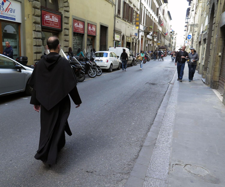 Italy-Florence-Street-Scenes-Priest