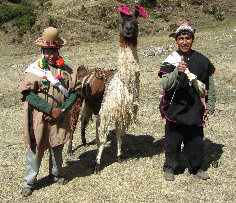 Peru-Salkantay-Trek-Day2-Santos-Macho-Elias