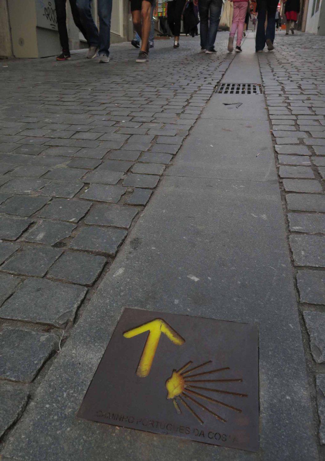 portugal-porto-camino-de-santiago-marker