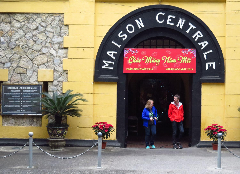 Vietnam-Hanoi-Hoa-Lo-Prison-Entrance
