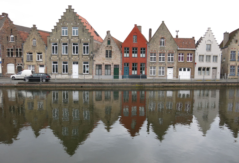 Belgium-Bruges-Water