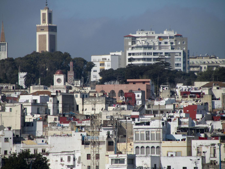 Morocco-Tangier-Skyline