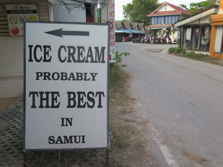 Thailand-Ko-Samui-Ice-Cream