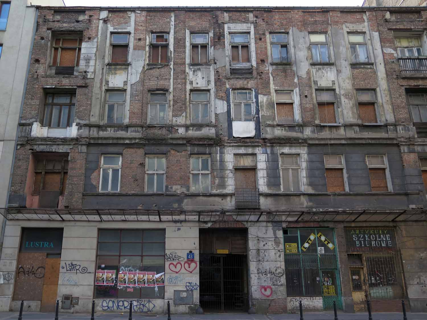 Poland-Warsaw-Old-Building
