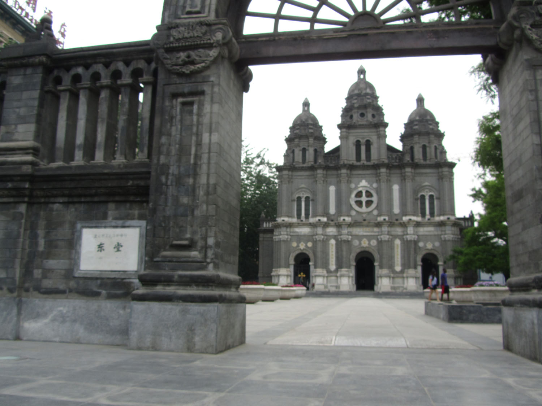 China-Beijing-Street-Scenes-Church