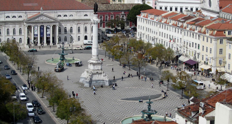 Portugal-Lisbon-Square