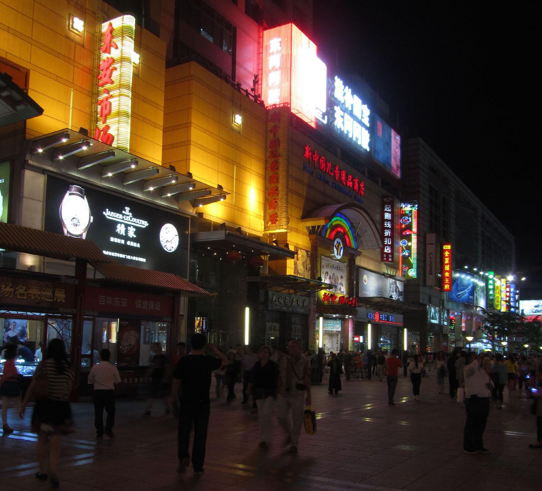 China-Beijing-Street-Scenes-Night