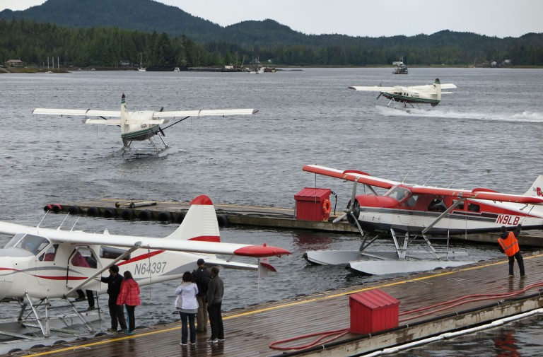 Alaska-Ketchikan-Float-Planes