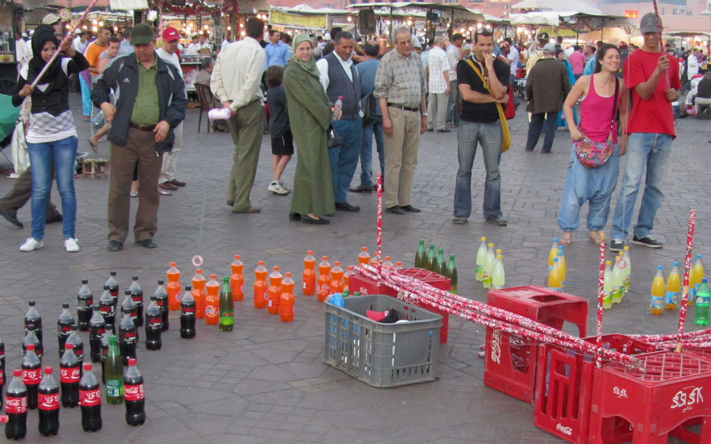 Morocco-Marrakech-Djemaa-El-Fna-Game