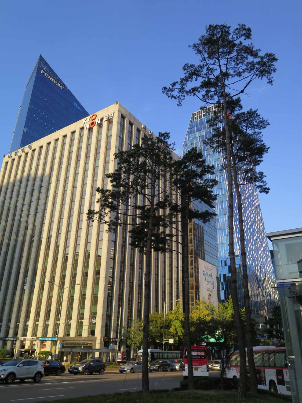Korea-Seoul-Buildings