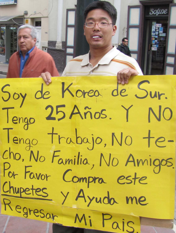 Ecuador-Cuenca-Street-Scenes-Korean-Man
