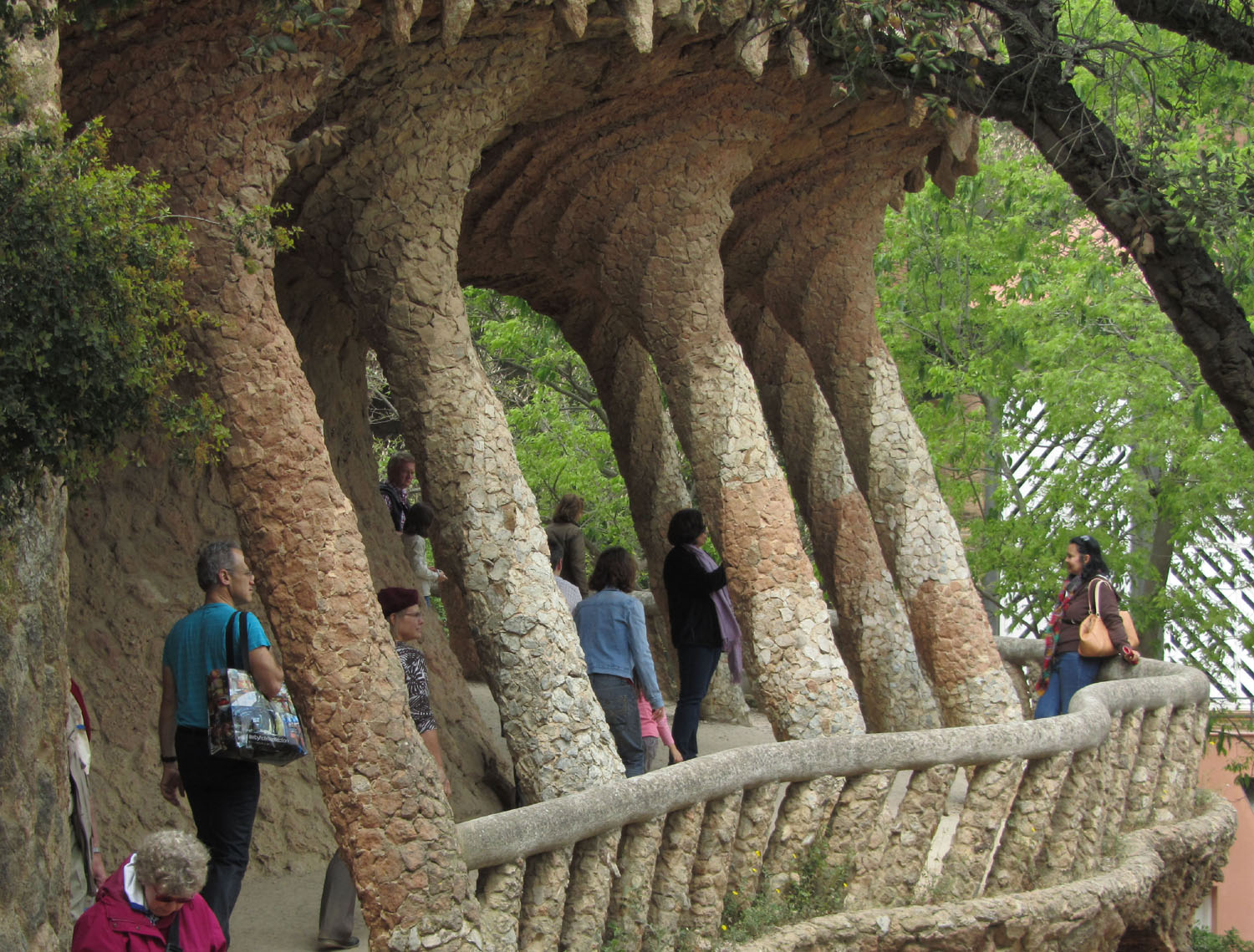 Spain-Barcelona-Gaudi-Parc-Guell