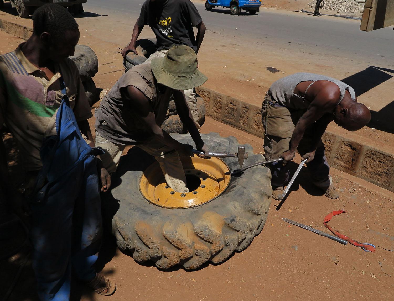 Ethiopia-Harar-Street-Scenes-Tire-Shop