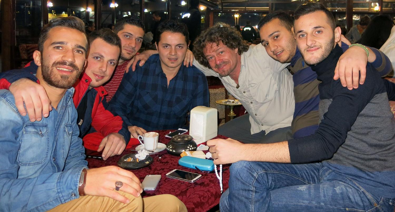 Turkey-Istanbul-Syrian-Friends