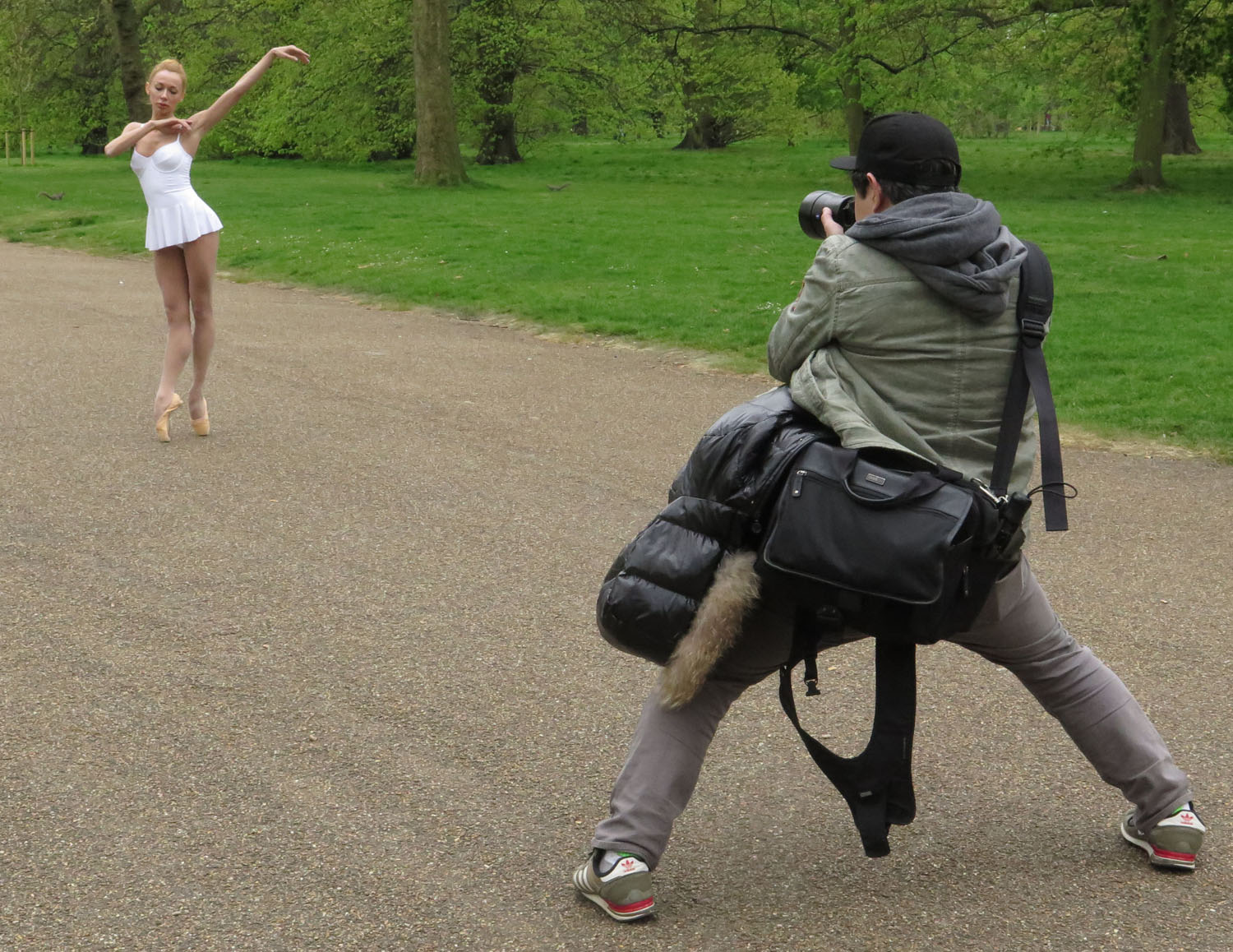 England-London-Hyde-Park-Ballerina-Photographer