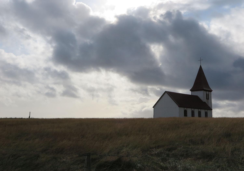 Iceland-Church-Sky