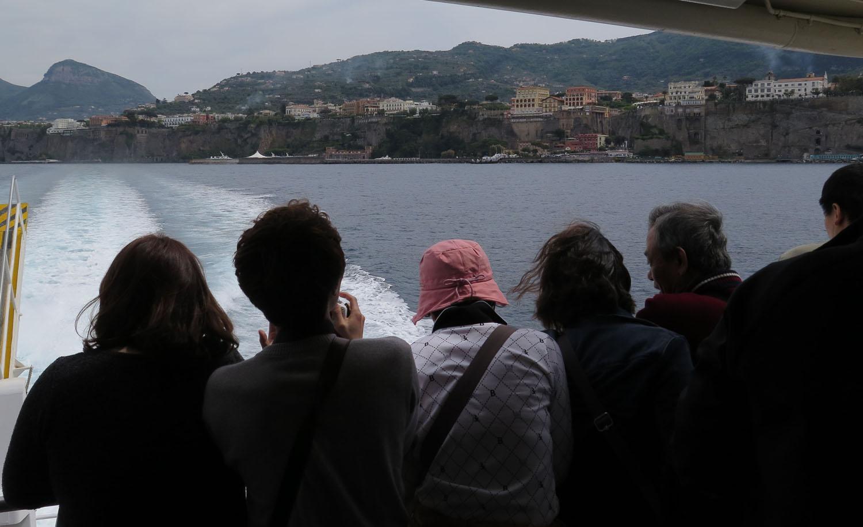 Italy-Capri-Ferry-Departing-Sorrento