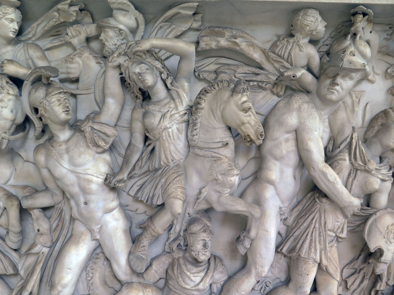 Italy-Rome-Vatican-Museum-Relief