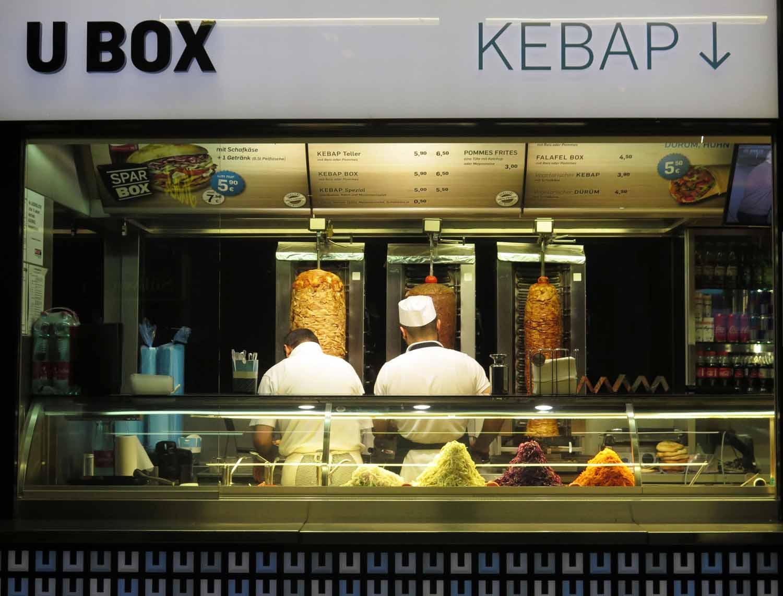 Austria-Vienna-Kebab-Stand