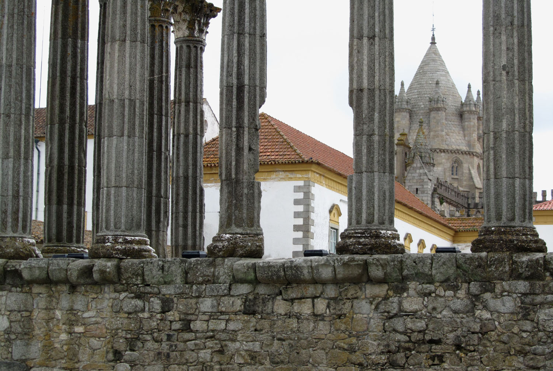 Portugal-Evora-Roman-Columns