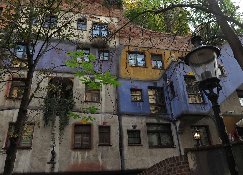 Austria-Vienna-Hundertwasserhaus