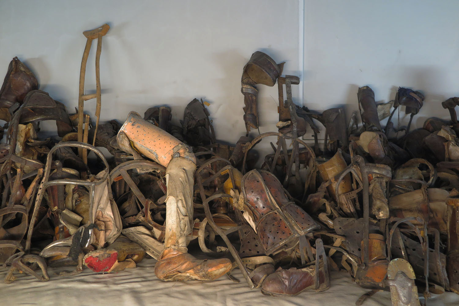 Poland-Auschwitz-Plunder-Artificial-Limbs