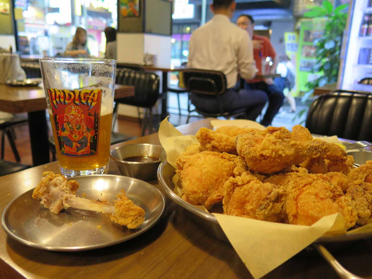 Korea-Seoul-Food-And-Drink-Fried-Chicken