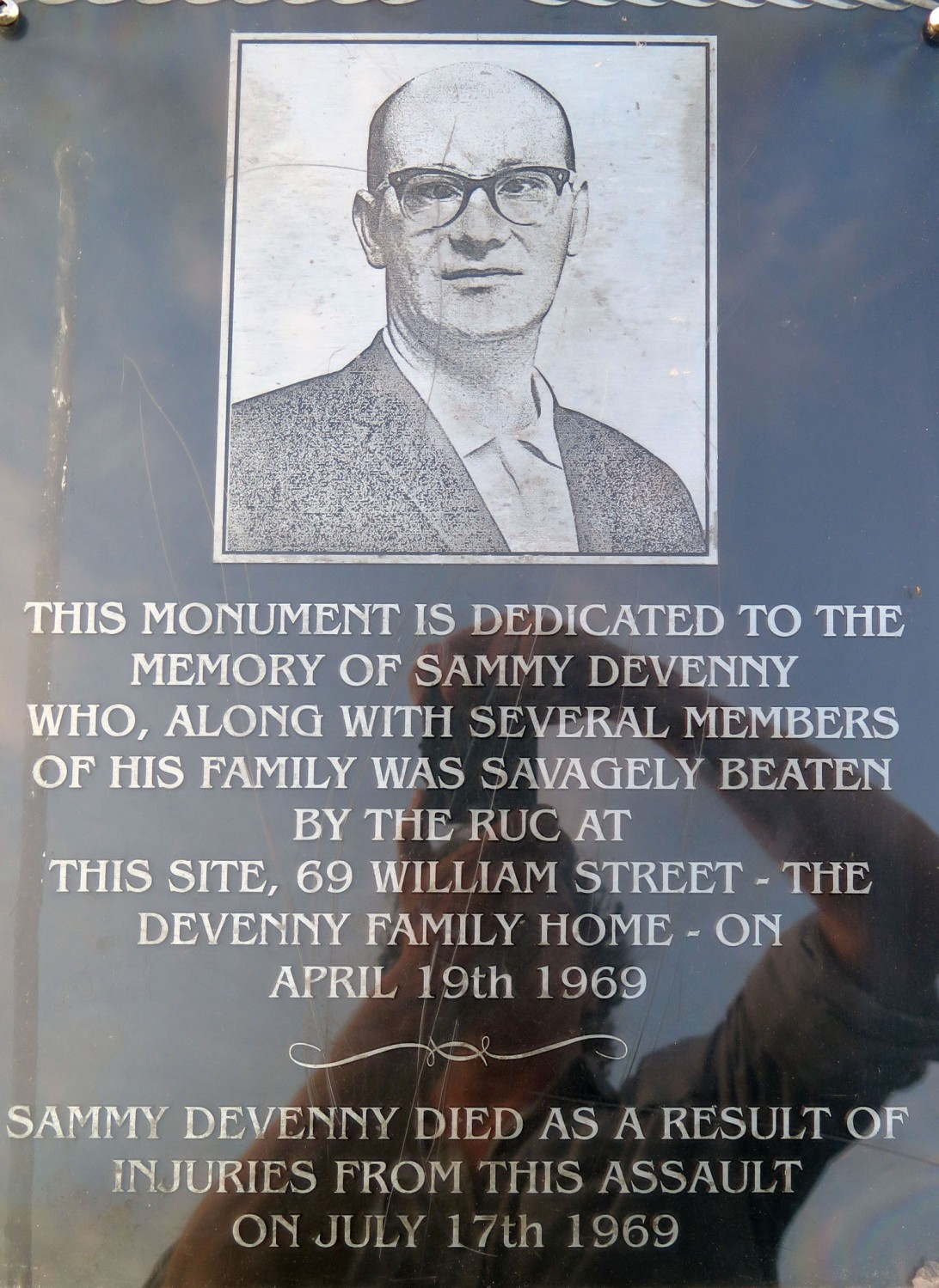 Northern-Ireland-Derry-Londonderry-Sammy-Devenny-Memorial