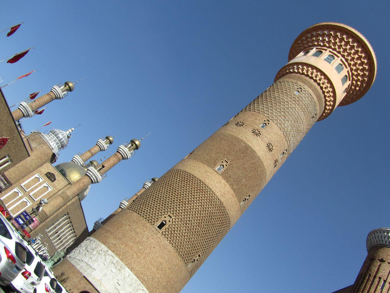 China-Urumqi-Minaret